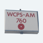 WCPS 760 AM United States of America, Tarboro
