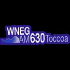WNEG 630 AM USA, Toccoa