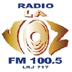 RADIO LA VOZ - LRJ717 100.5 FM Argentina, San Juan