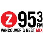 Z95.3 95.3 FM Canada, Vancouver