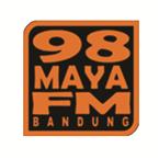 98 MAYA FM BANDUNG Indonesia, Bandung