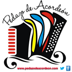 Pedazo de acordeon Colombia