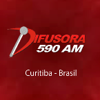 Rádio Difusora AM 590 AM Brazil, Curitiba
