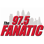 97.5 The Fanatic 97.5 FM USA, Burlington