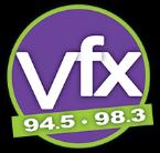 94.5 & 98.3 - Utah's VFX 94.5 FM USA, Logan