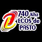 Emisora Ecos de Pasto 740 AM Colombia, San Juan de Pasto