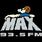 Max 93.5 93.5 FM United States of America, Willits