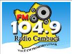 Rádio Cambuca FM 104.9 FM Brazil, Santa Maria do Cambucá