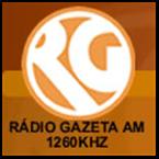 Rádio Gazeta AM 1260 AM Brazil, Maceió