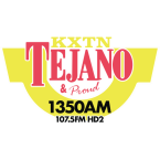 Tejano 107.5 HD2 & 1350 AM 107.5 FM USA, San Antonio del Tachira