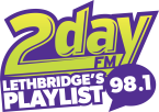 98 1 2day FM 98.1 FM Canada, Lethbridge
