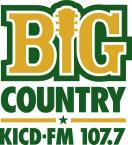 Big Country 107.7 107.7 FM USA, Spencer