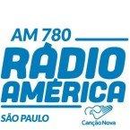 Rádio América / Canção Nova 780 AM Brazil, São Paulo