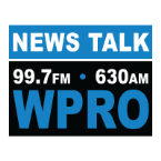 99.7FM 630 AM WPRO 630 AM United States of America, Providence