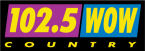 WOWF / 102.5 WOW COUNTRY 102.5 FM USA, Cookeville
