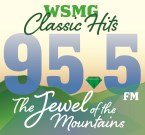 Jewel 95.5 FM WSMG 1450 AM United States of America, Greeneville