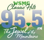 Jewel 95.5 FM WSMG 1450 AM USA, Greeneville