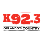 K92.3 Orlando's Country 92.3 FM USA, Orlando