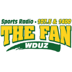 SPORTSRADIO 107.5 & 1400 THE FAN 107.5 FM USA, Green Bay