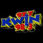 KWIN 97.7 & 98.3 97.7 FM USA, Lodi