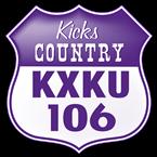 Kicks Country 106.1 106.1 FM United States of America, Wichita