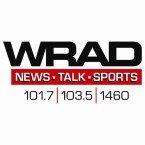 WRAD Talk Network 101.7 FM USA, Blacksburg