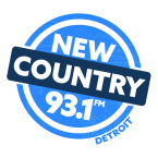 New Country 93.1 93.1 FM USA, Detroit