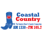 Coastal Country 105.7 1330 AM USA, Onley