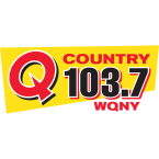 Q Country 103.7 103.7 FM USA, Ithaca