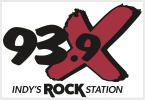 93.9X Indy's Rock Station 93.9 FM United States of America, Indianapolis