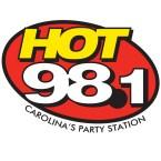HOT 98.1 98.1 FM USA, Williamston