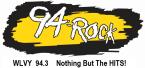94 ROCK WLVY 94.3 FM United States of America, Elmira