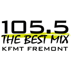 The Best Mix 105.5 105.5 FM United States of America, Fremont