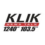 News Talk 1240 KLIK 1240 AM USA, Columbia