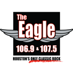 Houston's Eagle 106.9 and 107.5 107.5 FM USA, Galveston