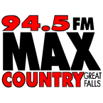 94.5 Max Country 94.5 FM United States of America, Great Falls