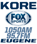 KORE - Fox Sports Eugene 1050 AM USA, Eugene-Springfield