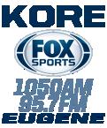 KORE - Fox Sports Eugene 1050 AM USA, Eugene-Springfield