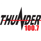 Thunder 100.7 100.7 FM United States of America, Corning