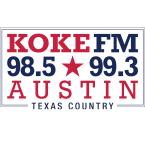 KOKE FM 99.3 FM USA, Austin