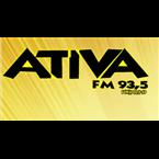 Rádio Ativa FM 93.5 FM Brazil, Penapolis