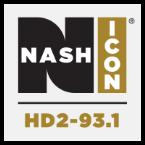 NASH Icon HD2 93.1 93.1 FM United States of America, Detroit