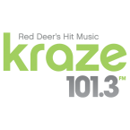 Kraze 101.3 101.3 FM Canada, Red Deer