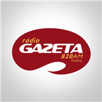 Rádio Gazeta AM 820 AM Brazil, Vitória