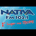 Rádio Nativa FM 102.1 FM Brazil, São José do Rio Preto