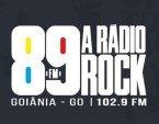 89 FM A Rádio Rock (Goiânia) 102.9 FM Brazil, Goiânia