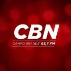 Rádio CBN (Campo Grande) 93.7 FM Brazil, Campo Grande