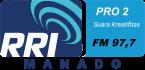 RRI PRO 2 MANADO 97.7 FM Indonesia, Manado