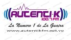 Autentik 100.7 FM 100.7 FM Venezuela, La Guaira