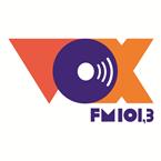 Rádio VOX FM 101.3 FM Brazil, Catanduva